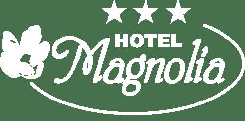 hotel magnolia białe logo